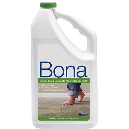 Bona Stone Tile Laminate Floor Cleaner Refill 64 Oz Walmart