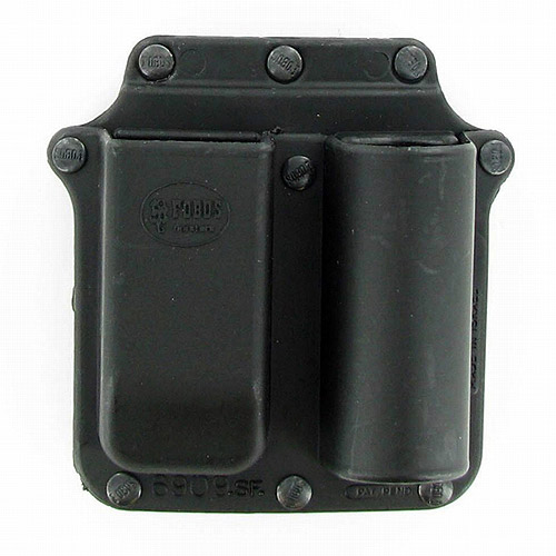 Fobus Flashlight and Double Magazine Holster Pouch by Fobus