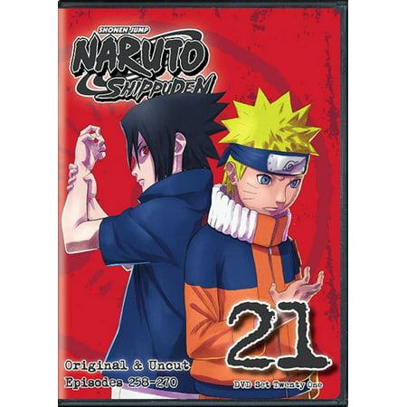 Naruto Shippuden: Box Set 21 (DVD)