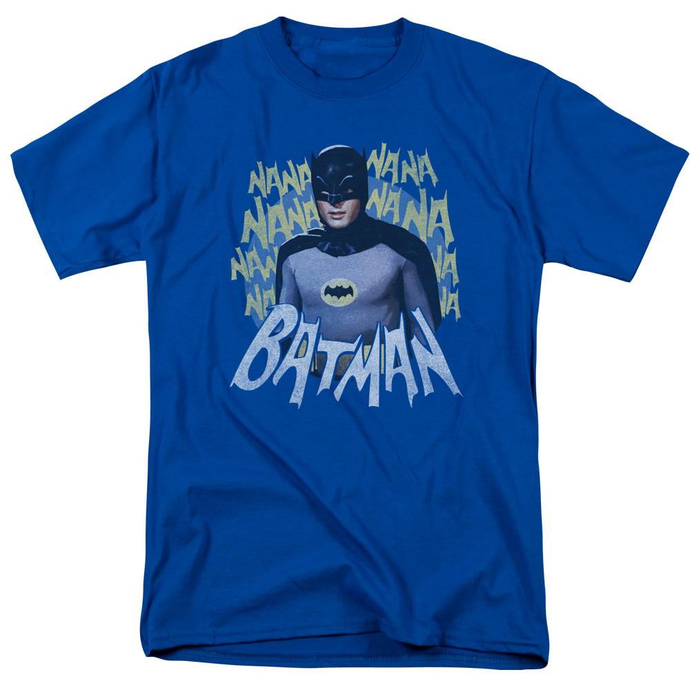 Batman Classic Tv Theme Song Mens Short Sleeve Shirt by Trevco