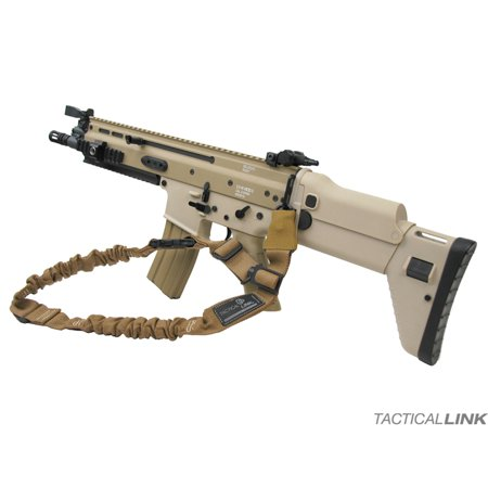 - Tactical Link Convertible Bungee Mash Hook Tactical Sling For SCAR Rifles