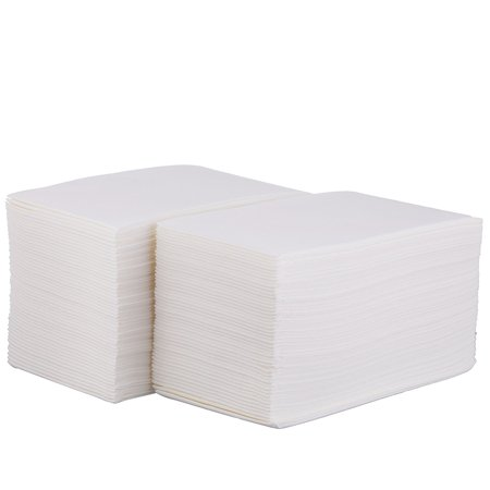 100 Disposable Cloth-Like Paper Hand Guest Towels – Soft, Absorbent, Air laid Tissue Paper for Kitchen, Bathroom or Events, White Guest - Paper Guest Towels