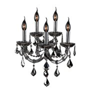 Worldwide Lighting Lyre 5-Light Wall Sconce