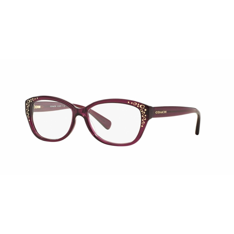 06249a0cf852 COACH Eyeglasses HC 6076 5120 Dark Tortoise 53MM - Walmart.com
