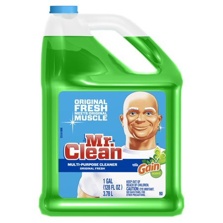Mr Clean Liquid All-Purpose Cleaner with Gain Original 128 Oz - Mr Clean Baby Halloween