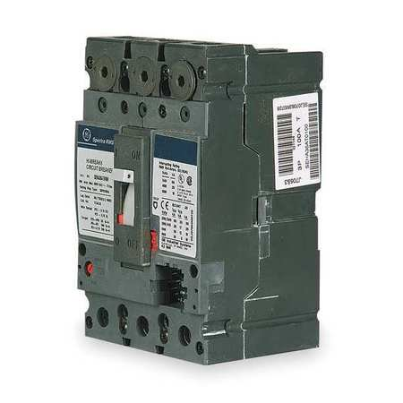 - GENERAL ELECTRIC 3P Interchangeable Rating Plug Circuit Breaker 150A 600VAC, SELA36AI0150