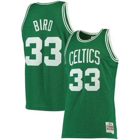 Hardwood Jersey - Larry Bird Boston Celtics Mitchell & Ness Big & Tall Hardwood Classics Jersey - Kelly Green