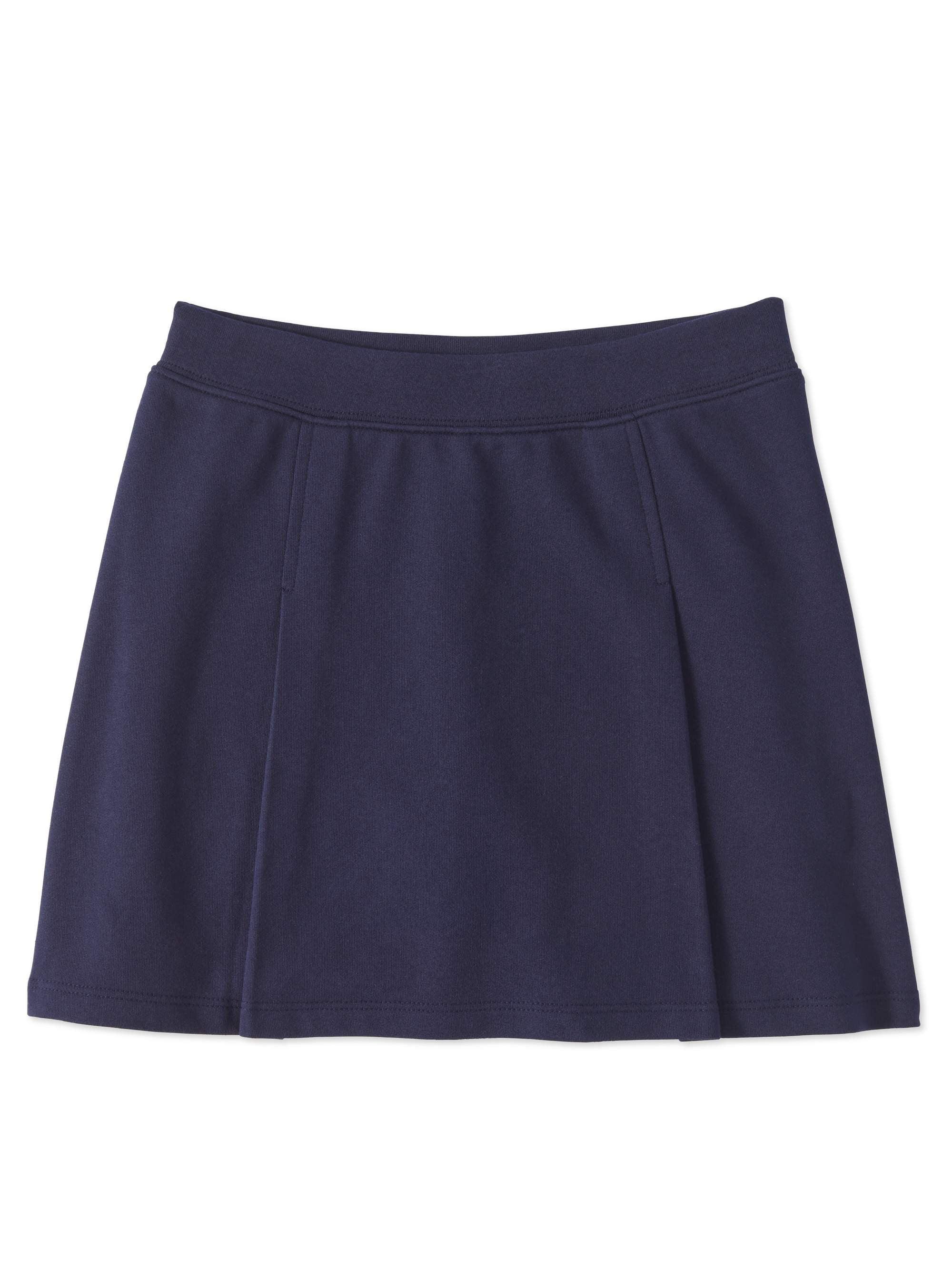 Girls Plus School Uniform Knit Scooter