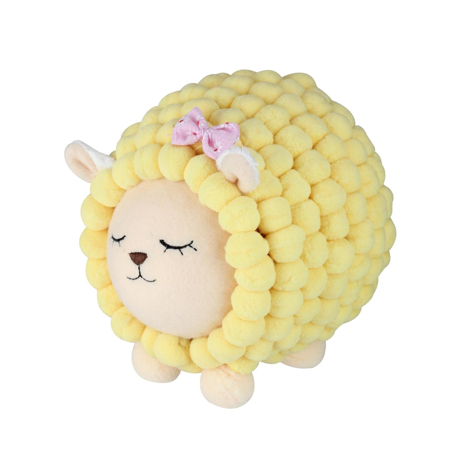 """6"""" Pastel Yellow Baby Lamb Easter Spring Decoration"""