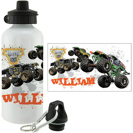 Personalized Monster Jam Monster Thirst Sports - Personalized Bottle