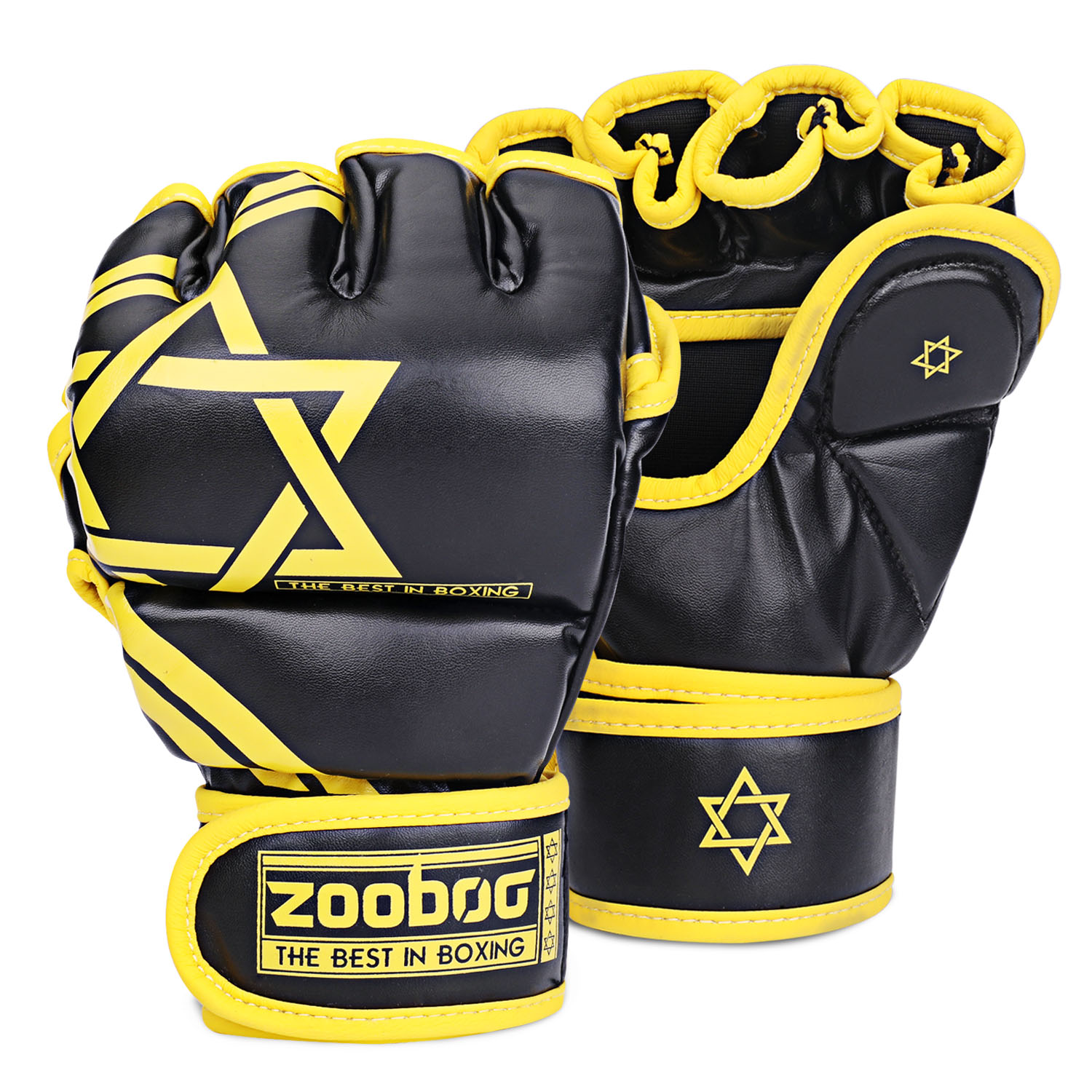 MMA Gloves Boxing Gear Grappling Martial Arts Sparring Taekwondo Hand Gloves Fighting Leather Mitts Training Gloves Kids Women Men