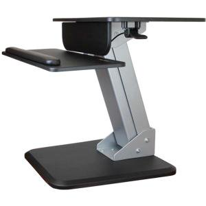 """StarTech.com Sit-to-Stand Workstation - One-Touch Height Adjustment - Up to 30"""" Screen Support - 28.66 lb Load Capacity - Flat Panel Display Type Supported - 6.3"""" Height x 26.8"""" Width"""