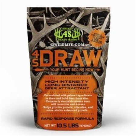 Advanced Wildlife Solutions C17106 4S Draw Deer Attractant - 10.5 lbs Bag thumbnail