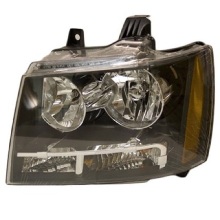 Go-Parts OE Replacement for 2007 - 2014 Chevrolet Suburban 1500 Front Headlight Assembly Housing / Lens / Cover - Left (Driver) Side 22853025 GM2502263 Replacement For Chevrolet Suburban 1500 1967 Chevrolet Suburban Replacement