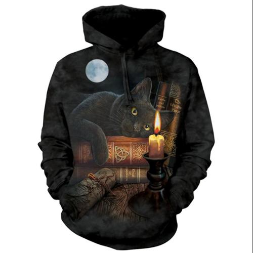 The Mountain Black 100% Cotton The Witching Hour Graphic Novelty Sweatshirt (XL)