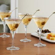 Personalized Martini Glass, Set of 4