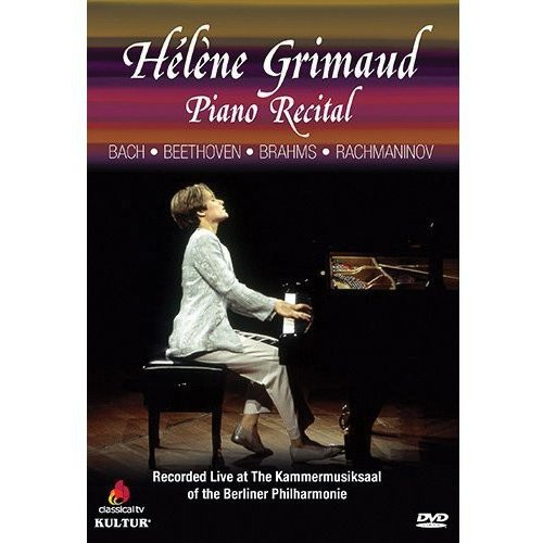 Helene Grimaud: Piano Recital - Bach / Beethoven / Brahms / Rachmaninov (Anamorphic Widescreen)