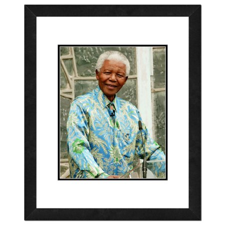 (Nelson Mandela Framed Photo by Photo File)