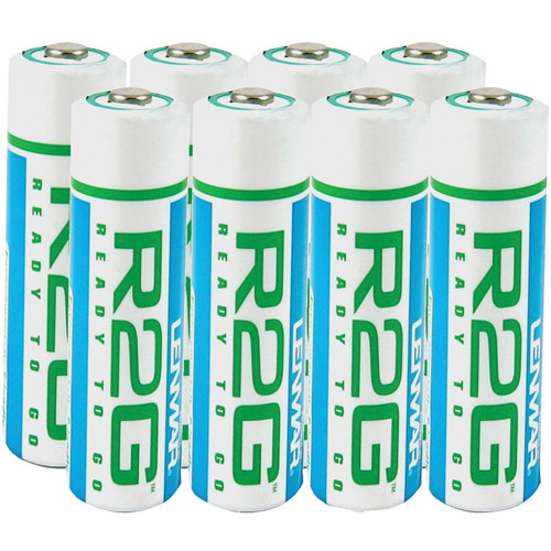 Lenmar R2GAA8 AA 8pk R2G Ready to Go Batteries