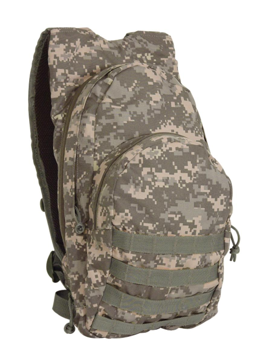Voodoo Tactical 15-7491 MSP-3 Expandable Hydration Pack with Bladder by Voodoo Tactical