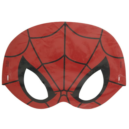 Spiderman Party Masks 8 Count