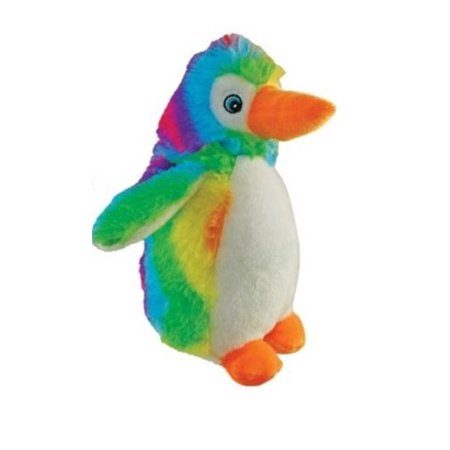 National Toy Rainbow Penguin Soft Stuffed Plush Animal Toy