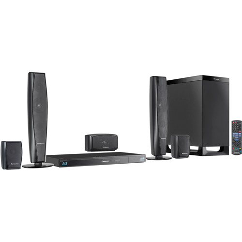 Panasonic SC-BTT370 Home Theater System with HDMI and iPod Dock
