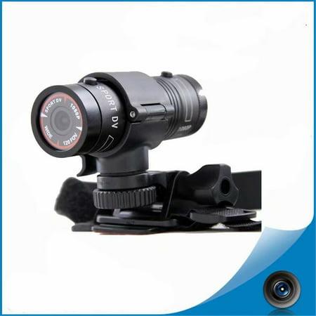 VicTsing 1080P HD Waterproof Helmet Action Camera Sports Cam Video Bicycle Recorder DV (Helmet Action Cam)