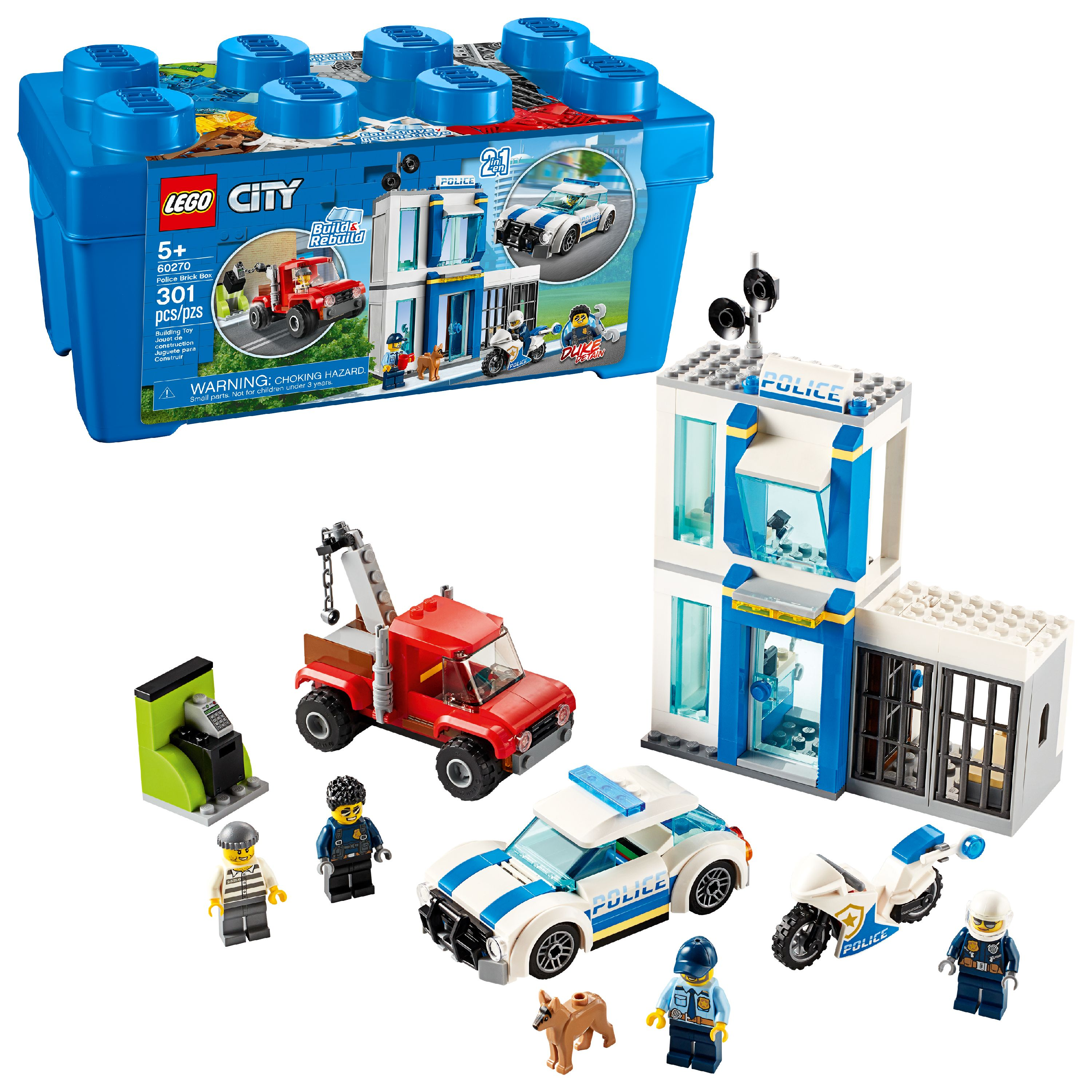 LEGO City Police Brick Box 60270 Building Playsets for ...