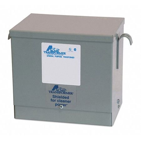 Acme Electric T2A533401S 480V General Purpose Transformer, 240V Delta/120V CT