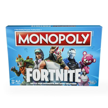 Monopoly Fortnite Board Game for Ages 13 and - 8 Year Old Games For Boys
