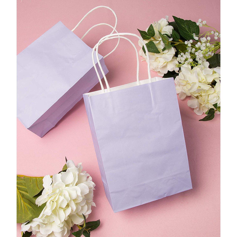 Set of 12 Pastel Paper Crafts Purple Green Gift Scrapbooking Watercolor Flowers Pink Floral Paper Bags Junk Journal