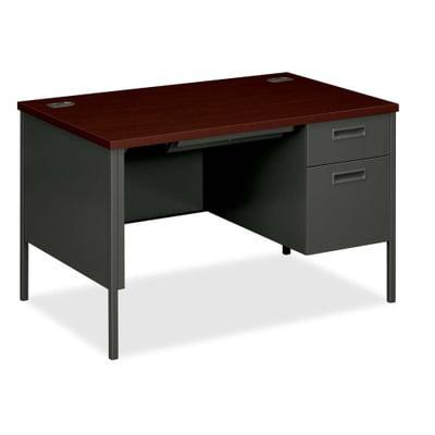 HON Metro Classic Single Pedestal Desk HONP3251RNS