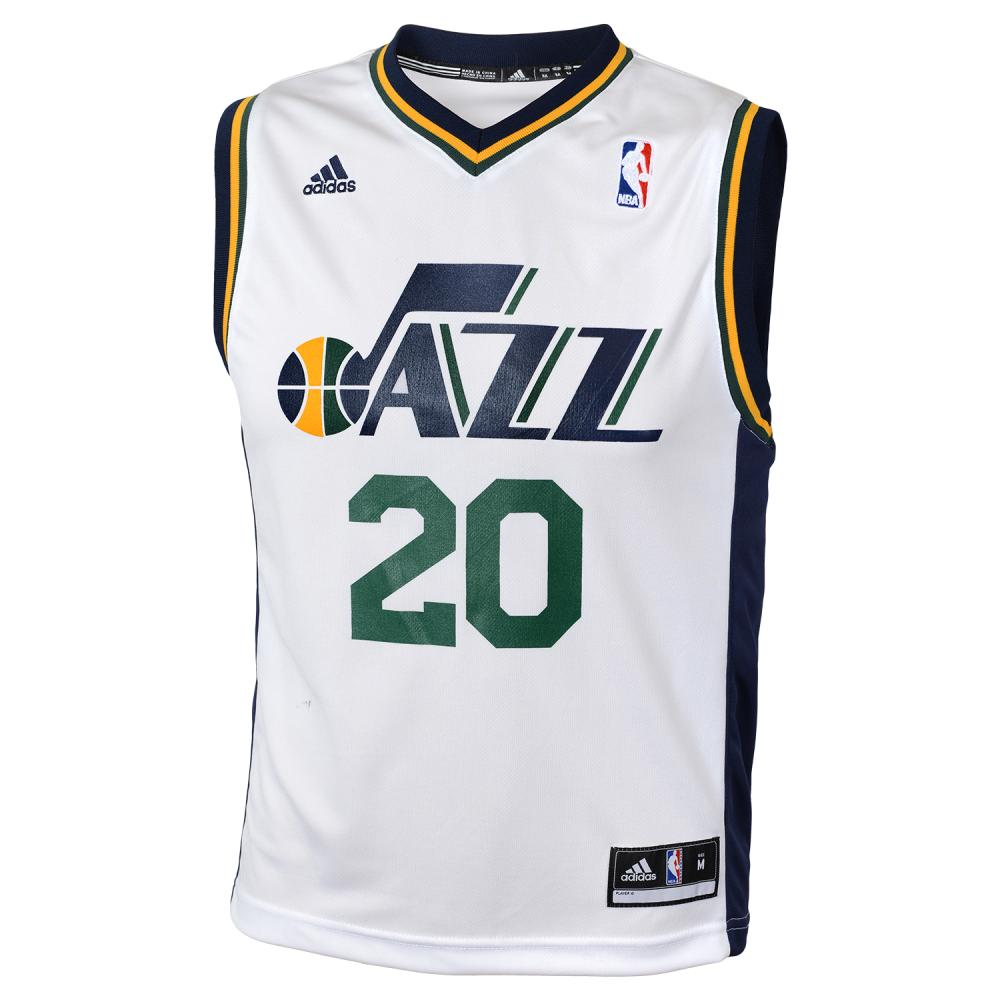 Utah Jazz Youth Home Replica Jersey (White)