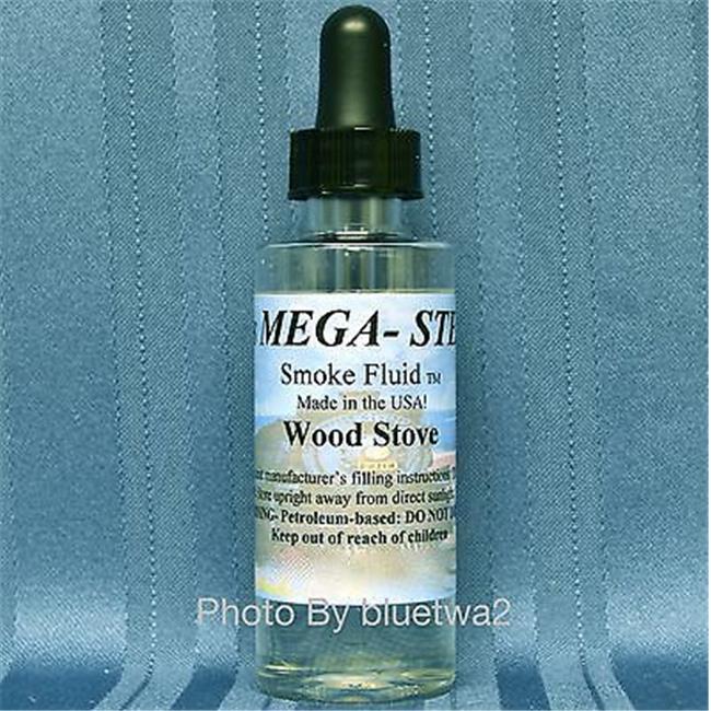 Mega-Steam MEG33 Wood Stove Scent Smoke Fluid
