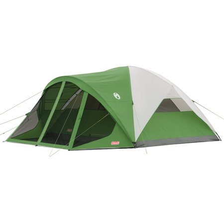 Backcountry Tent (Coleman Evanston 8-Person Tent with Screen Room )
