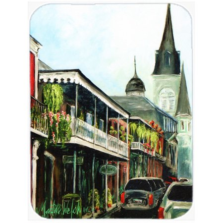 St Louis Cathedral Mouse Pad, Hot Pad or Trivet