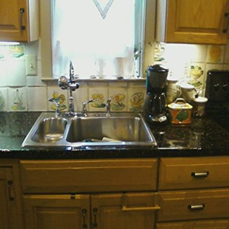 Absolute Black Granite Countertops - Granite Film - Black - 3' x 6'
