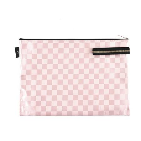 Office School Plastic Zip Up A4 Size Paper Document Art File Bag Holder