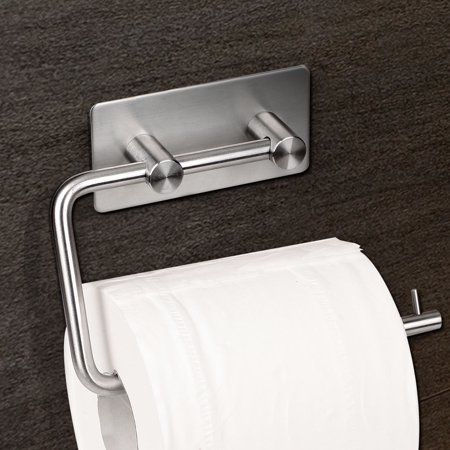 Self Adhesive Toilet Paper Holder Stainless Steel Tissue