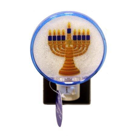 Home Decor HANUKKAH NIGHT LIGHT Plastic Religious for $<!---->