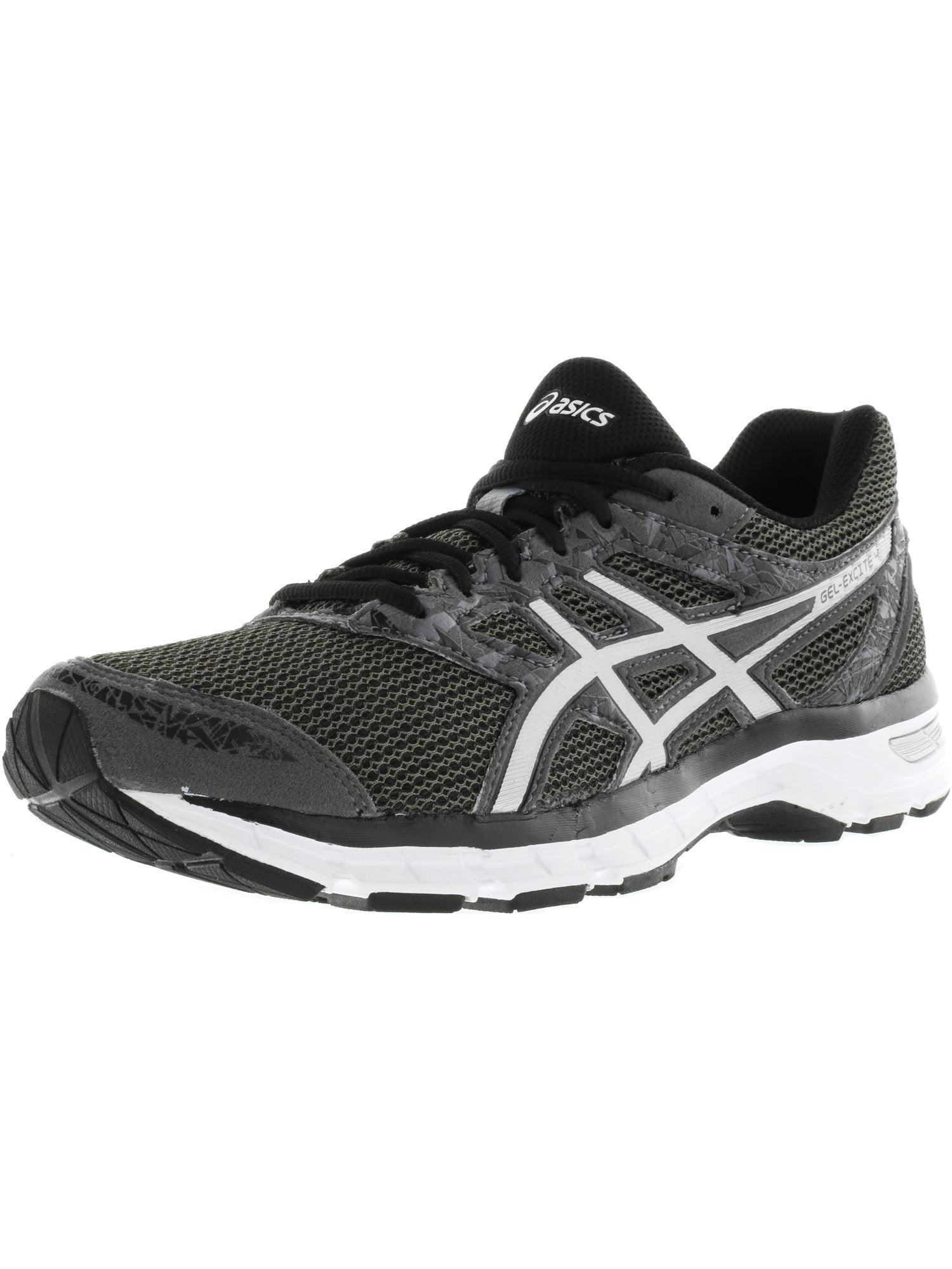 Asics Men's Gel-Excite 4 Carbon / Silver Black Ankle-High Running Shoe - 9.5WW