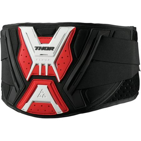 Thor Force Belt Black/Red Sm/Md  2703-0137