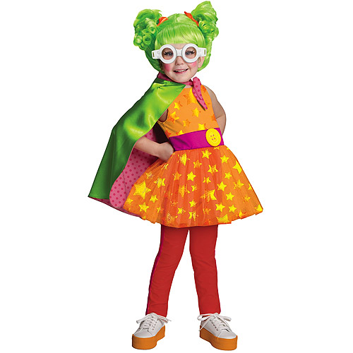 Deluxe Lalaloopsy Dyna Might Toddler Halloween Costume