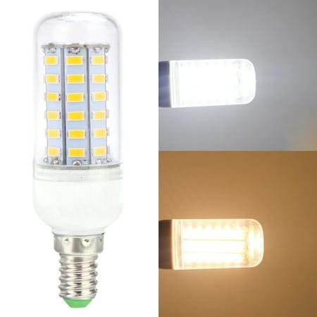 E14 12W 5730 56 LEDs Corn Light Lamp Bulb Energy Saving 360 Degree - image 1 de 1