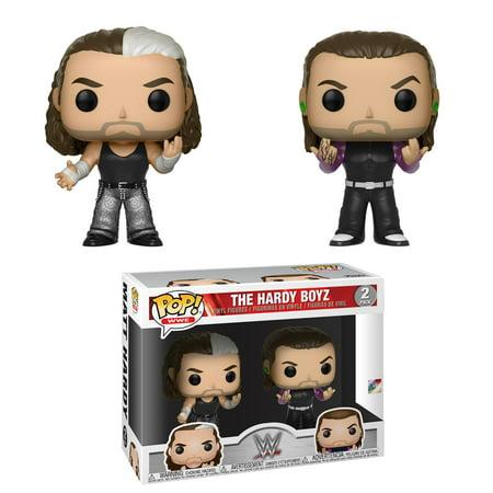 Hardy Boyz (Matt Hardy & Jeff Hardy) - WWE Pop Vinyl 2-Pack Toy Wrestling Action Figures