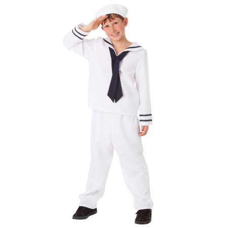 Cute Sailor Costume (Child White Sailor Costume)