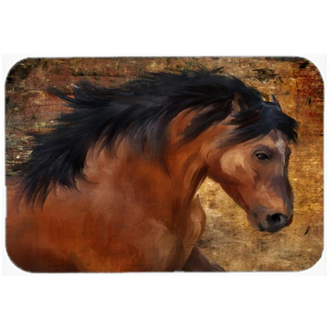 Carolines Treasures PTW2027JCMT Wild Horse Kitchen & Bath Mat, 24 x 36 in. - image 1 of 1