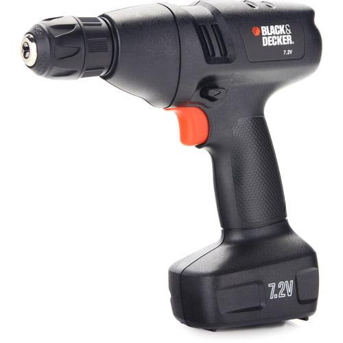 Black & Decker 7.2V Cordless Drill, 9099KC