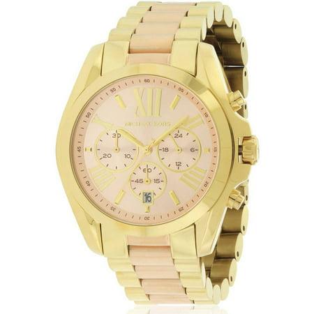 0874083873be Michael Kors - Bradshaw Two-Tone Chronograph Women s Watch